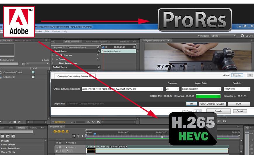 Cinemartin plin new plugin for nle & adobe premiere pro to export.