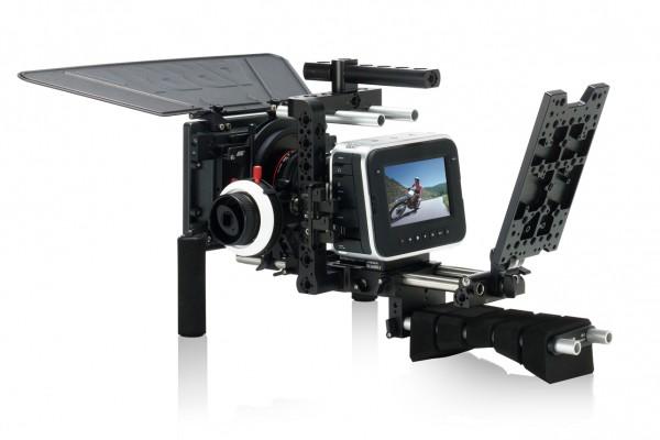 Blackmagic Design Cinema Camera, with ARRI Pro camera accessories
