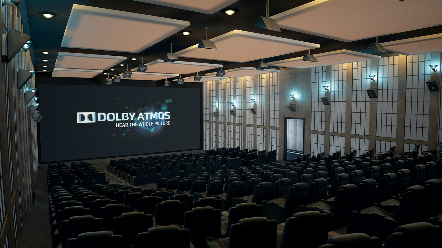 Soundfirm's Dolby Atmos theatre.