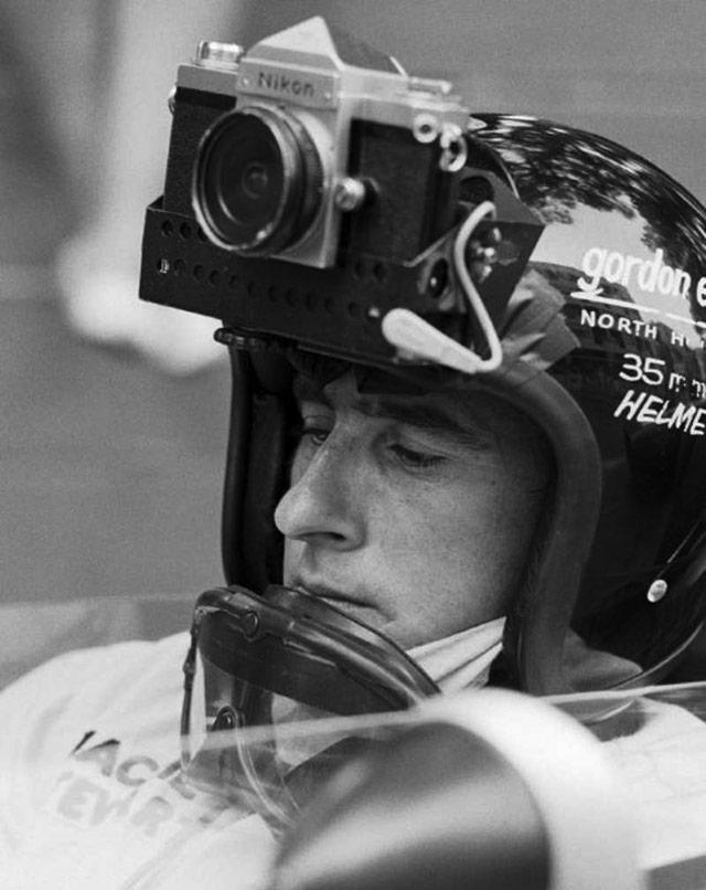 Jackie Stewart - Stills Camera