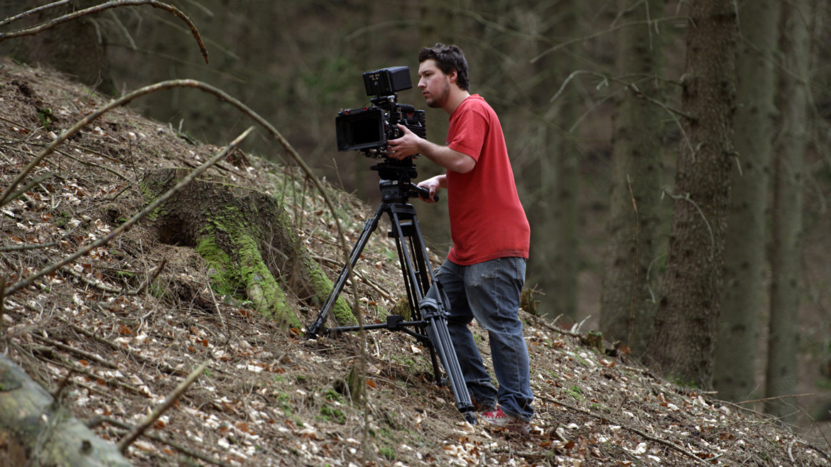 Filmmaker-For-A-Cause-Shooting-with-Miller-Arrow-Tripod-System---Image4