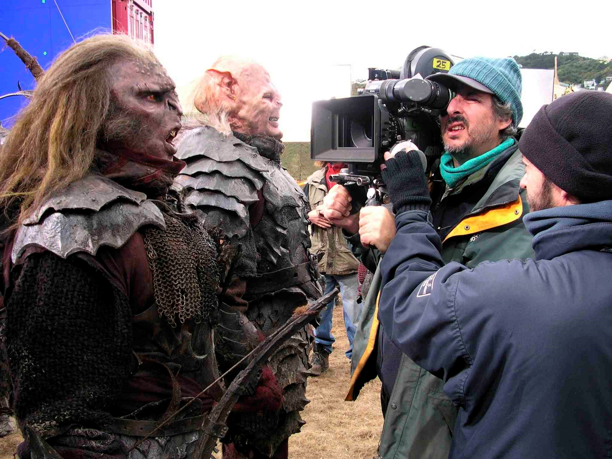 The ARRIFLEX 435 on the set of Lord of the Rings