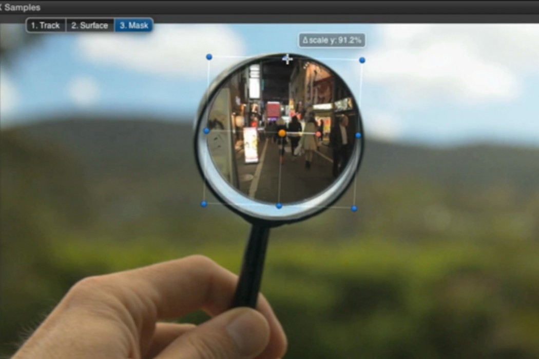 Track Layer allows you to mask in footage