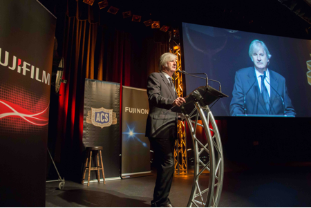 Guest of honour John Jarratt ('Wolf Creek') at the at the 43rd ACS National Awards for Cinematography  (photographer Bryan Crawford)