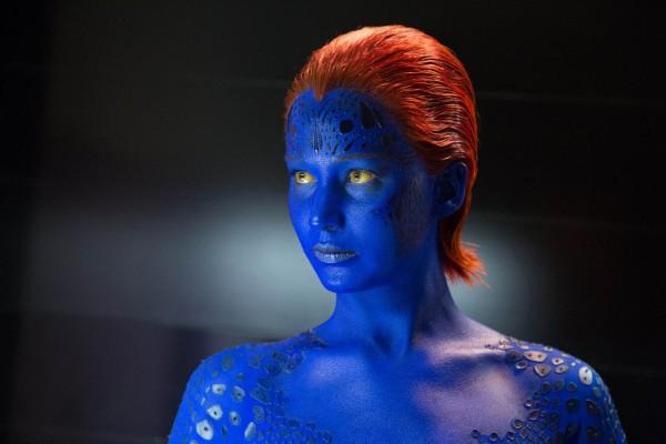 Jennifer Lawrence as Mystique in 'X Men: Days of Future Past' (image: Twentieth Century Fox)