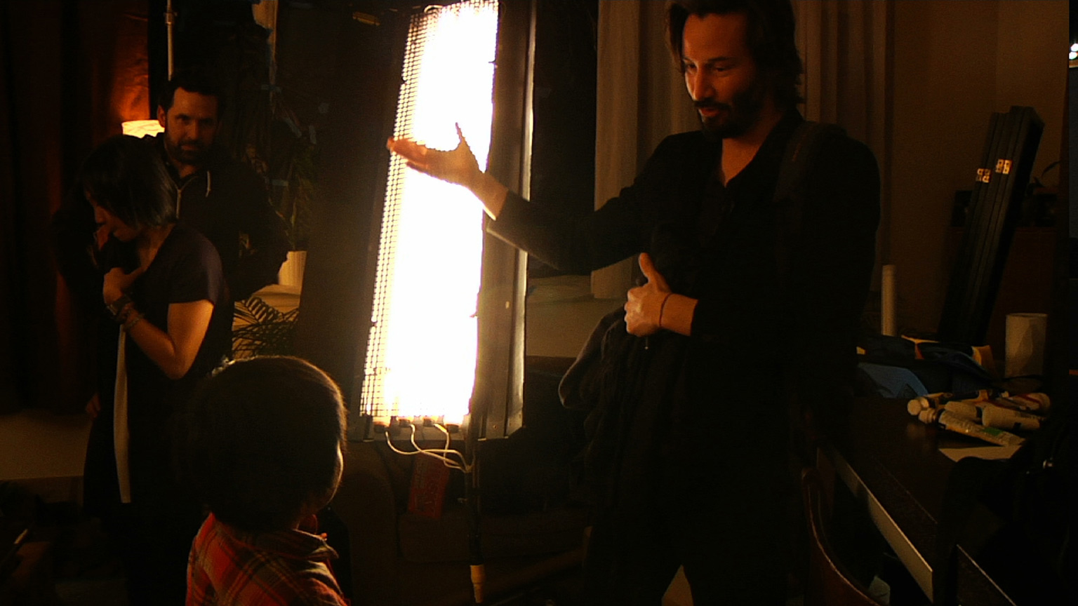 BTS with Keanu Reeves on 'Side by Side'