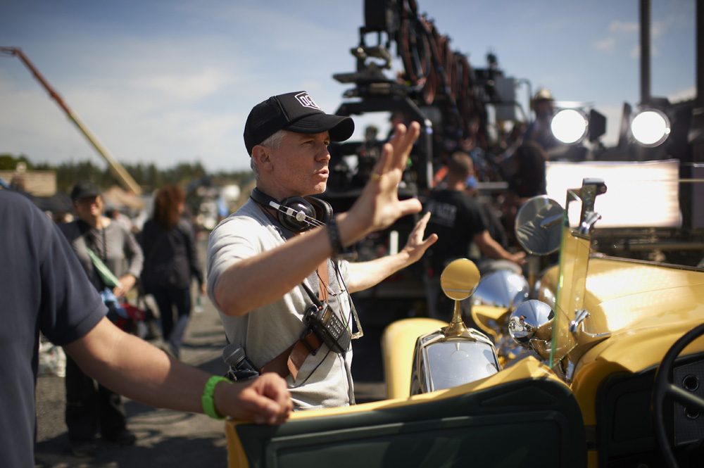 "Director BAZ LUHRMANN on the set of Warner Bros. Pictures' and Village Roadshow Pictures' drama ""THE GREAT GATSBY,"" a Warner Bros. Pictures release."