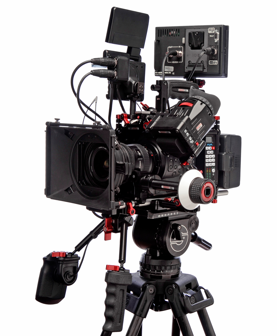 Canon Cinema C300 with Zacuto studio rig