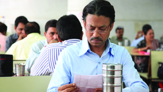 The Lunchbox featuring Slumdog Millionaire's Irrfan Khan.