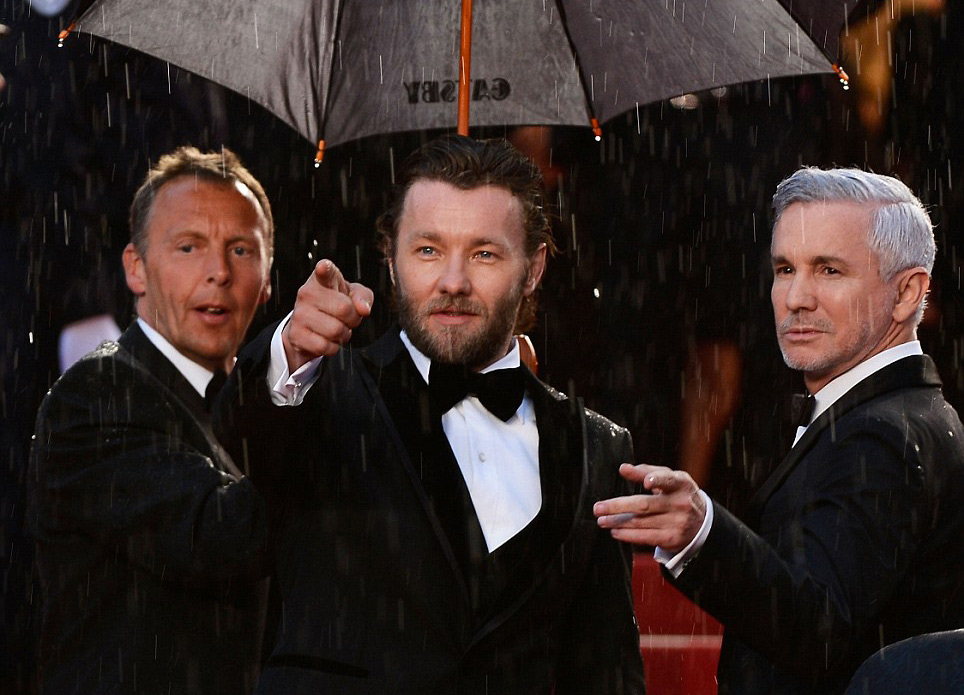 Baz Luhrmann and Joel Edgerton at Cannes (image: Getty Images).