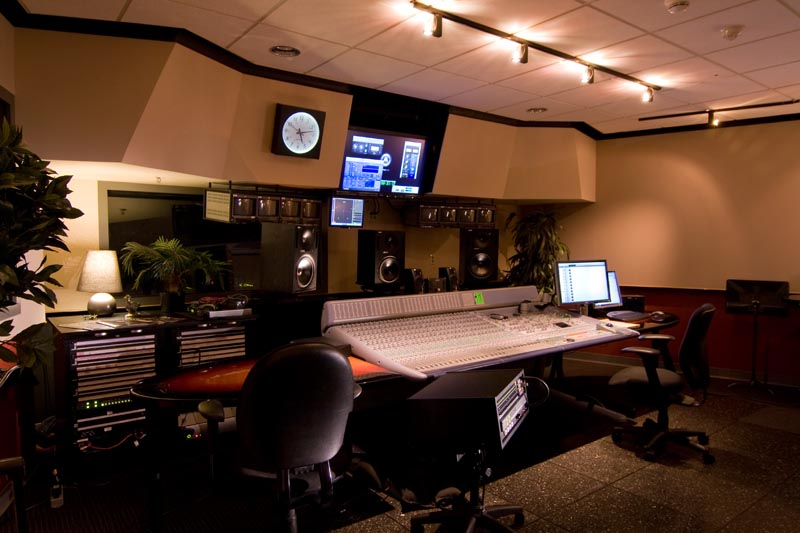 MPS recordng and mixing room