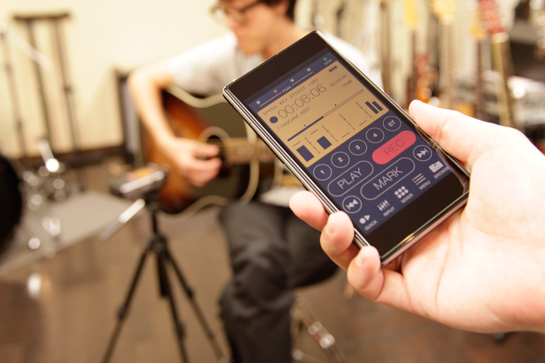 Android & iOS app for remote controlling both recorders
