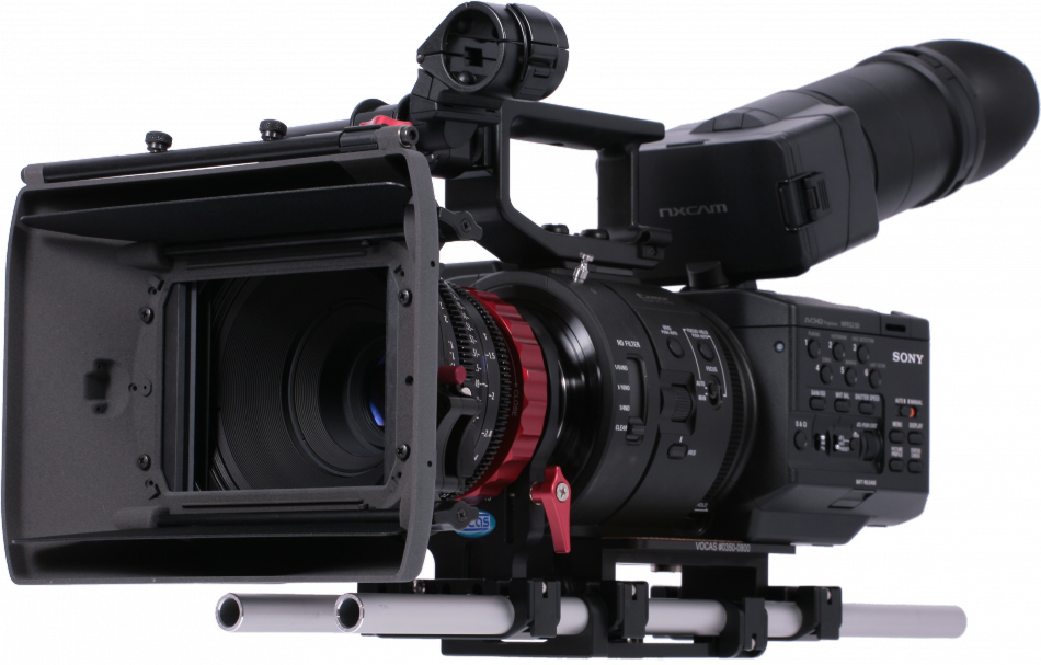 Sony FS700 with Vocas 4K Shooters