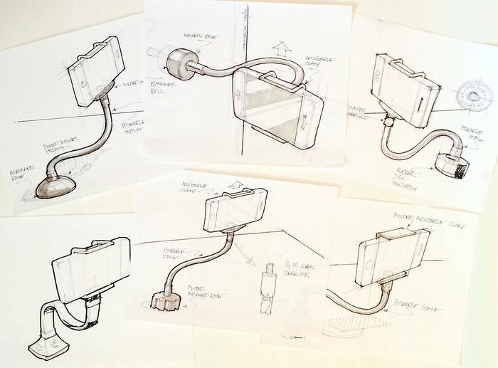 GripSnap pre-production designs