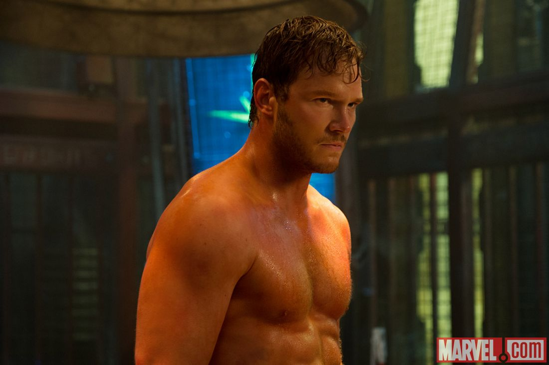 Leading man Chris Pratt