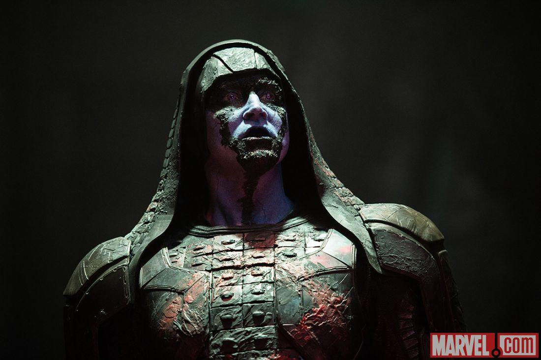 Lee Pace playing Ronan the in Marvel's 'Guardians of the Galaxy' (image: Marvel)