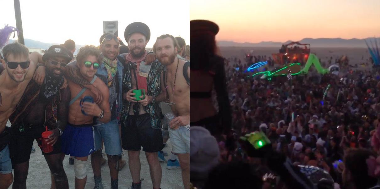 DMO at Burning Man 2014 (image: DMO/instagram)
