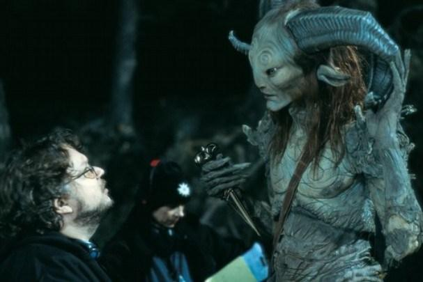 del Toro on the set of 'Pan's Labyrinth (image: Esperanto Films).