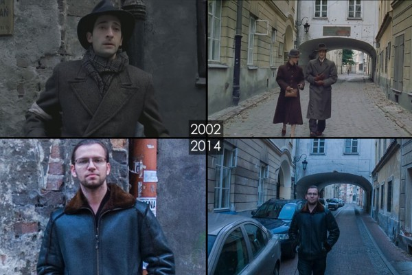 """One of my favorite movies, Roman Polanski's ""The Pianist"" was shot almost entirely in the old part of Warsaw. Highly recommend it, I think it ranks higher than Spielberg's ""Shindler's List"" when it comes to portraying the reality of Holocaust, without any forced emotions. "" (image: datscene.tumblr.com)."