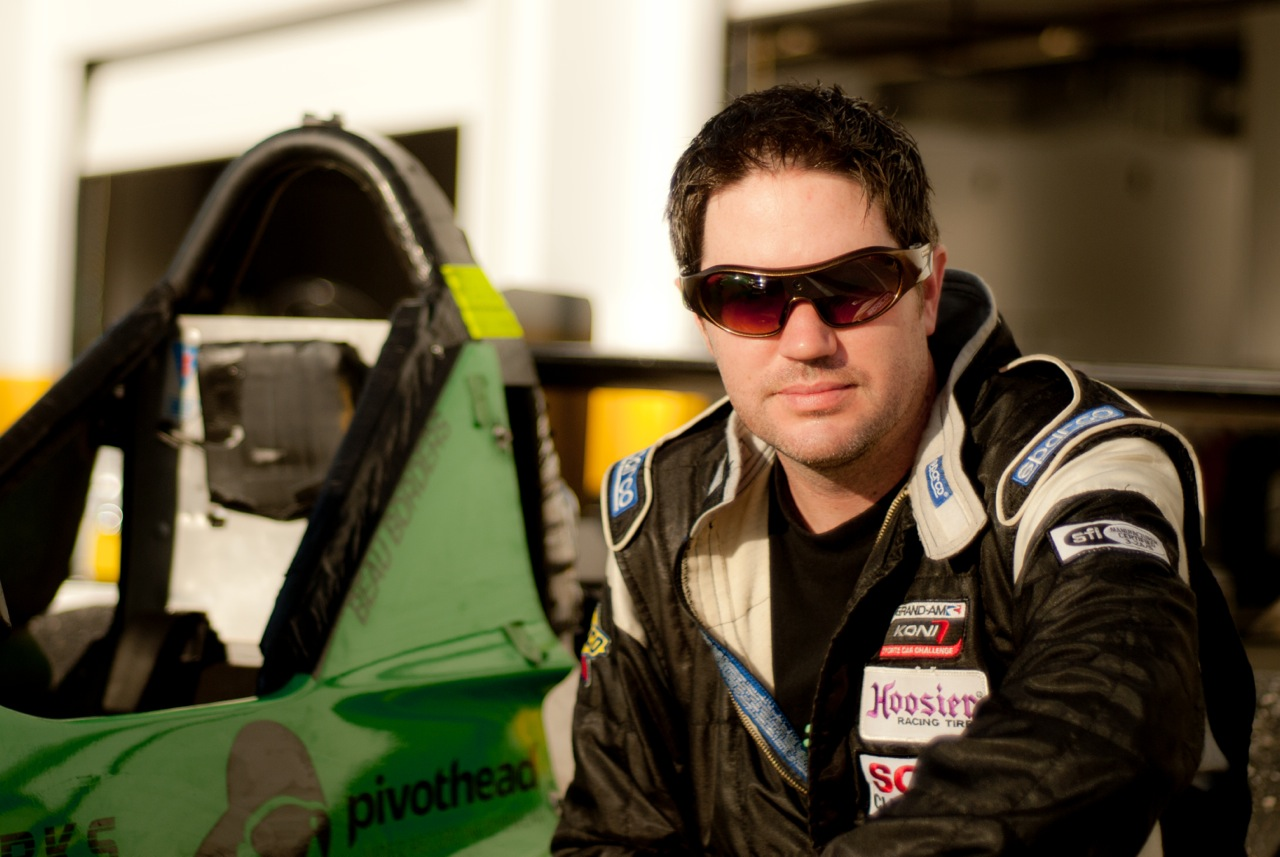 Beau Borders at Daytona, 2012 (image: © HDVCS).
