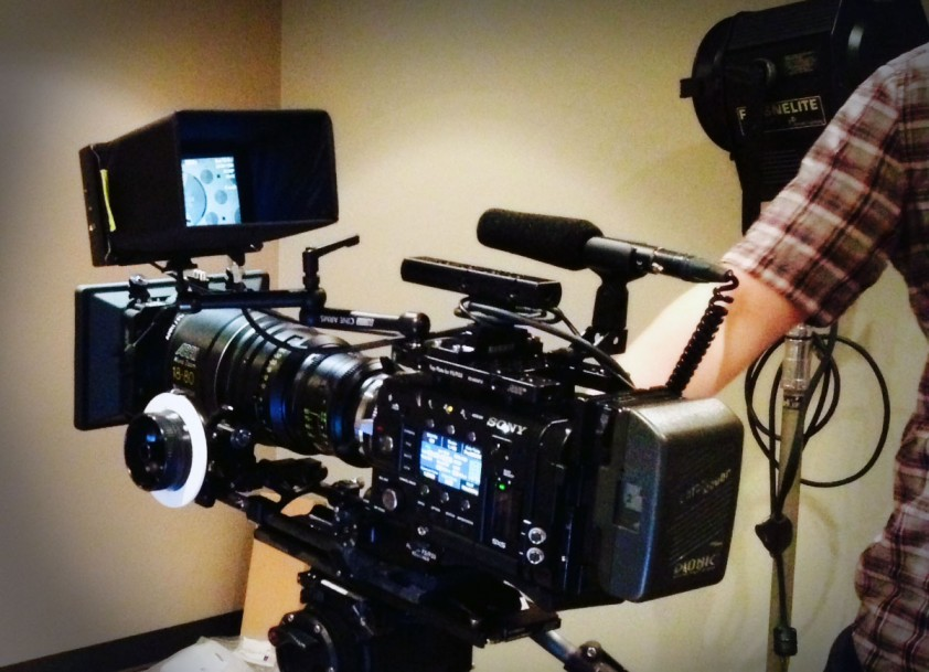 The OSny F55 prepped and ready for shooting 'Burma Road' (image: © Monarex).