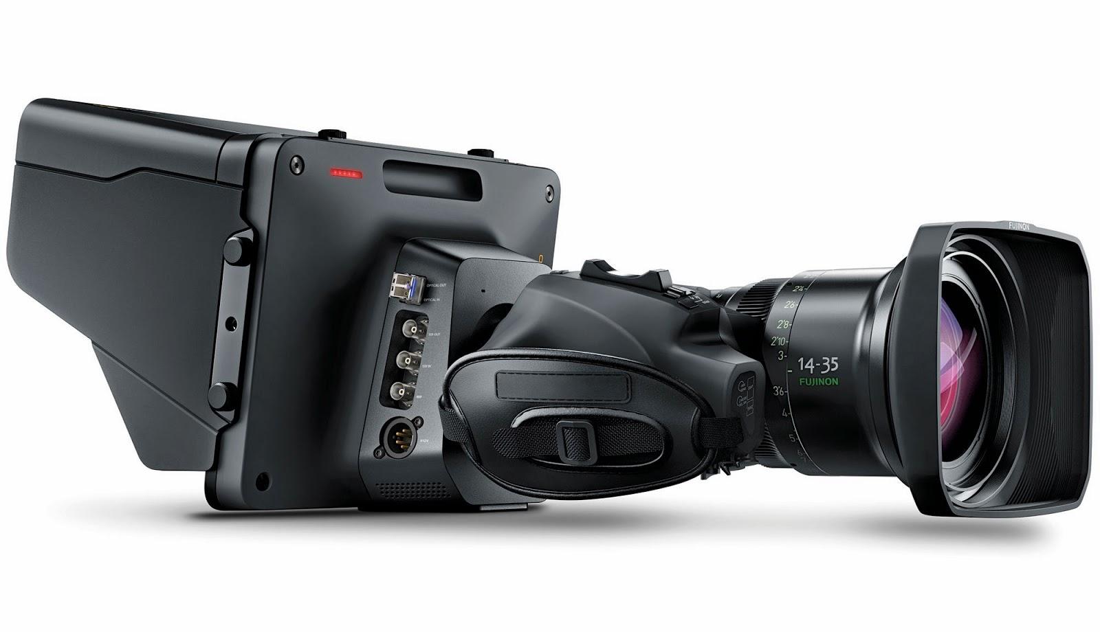 Blackmagic Studio Camera B4 lens