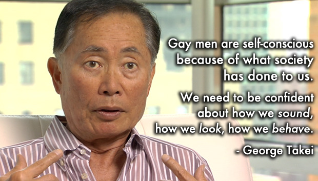 George Takei in a scene from 'Do I Sound Gay'.