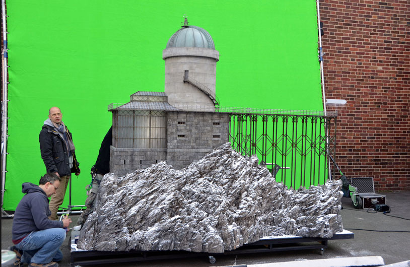 The observatory model (image: courtesy of Fox Searchlight Pictures).