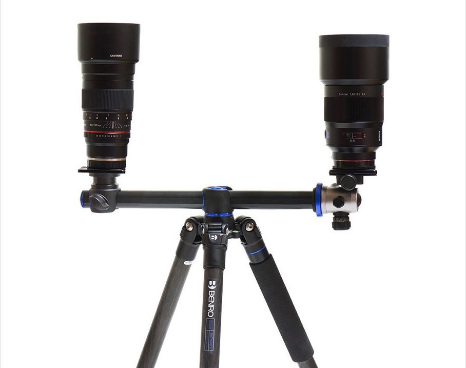 Samyang 135mm vs Sony ZA 135mm (image: Tystory).