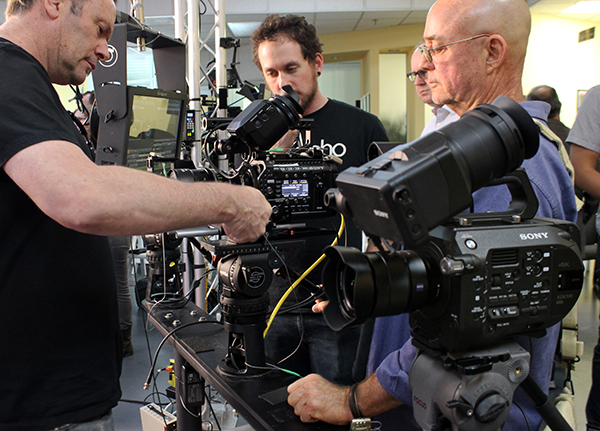 Images from Band Pro's recent FS7 workshop.