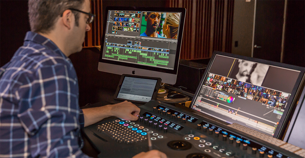 Senior Colourist, Ian Vertovec did the final grade on a Quantel Pablo Rio system (image: Alex Tehrani).