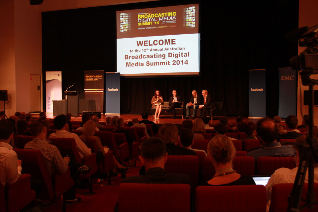 Industry panel at the 2014 Summit (Image: Supplied).
