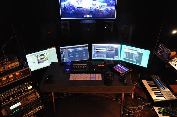 Andrew Lackey's setup (image: PSE Blog).