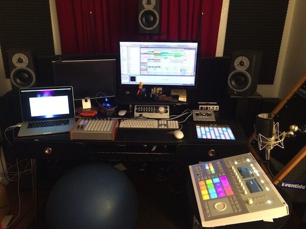 Matt Piersall's setup (image: PSE Blog).