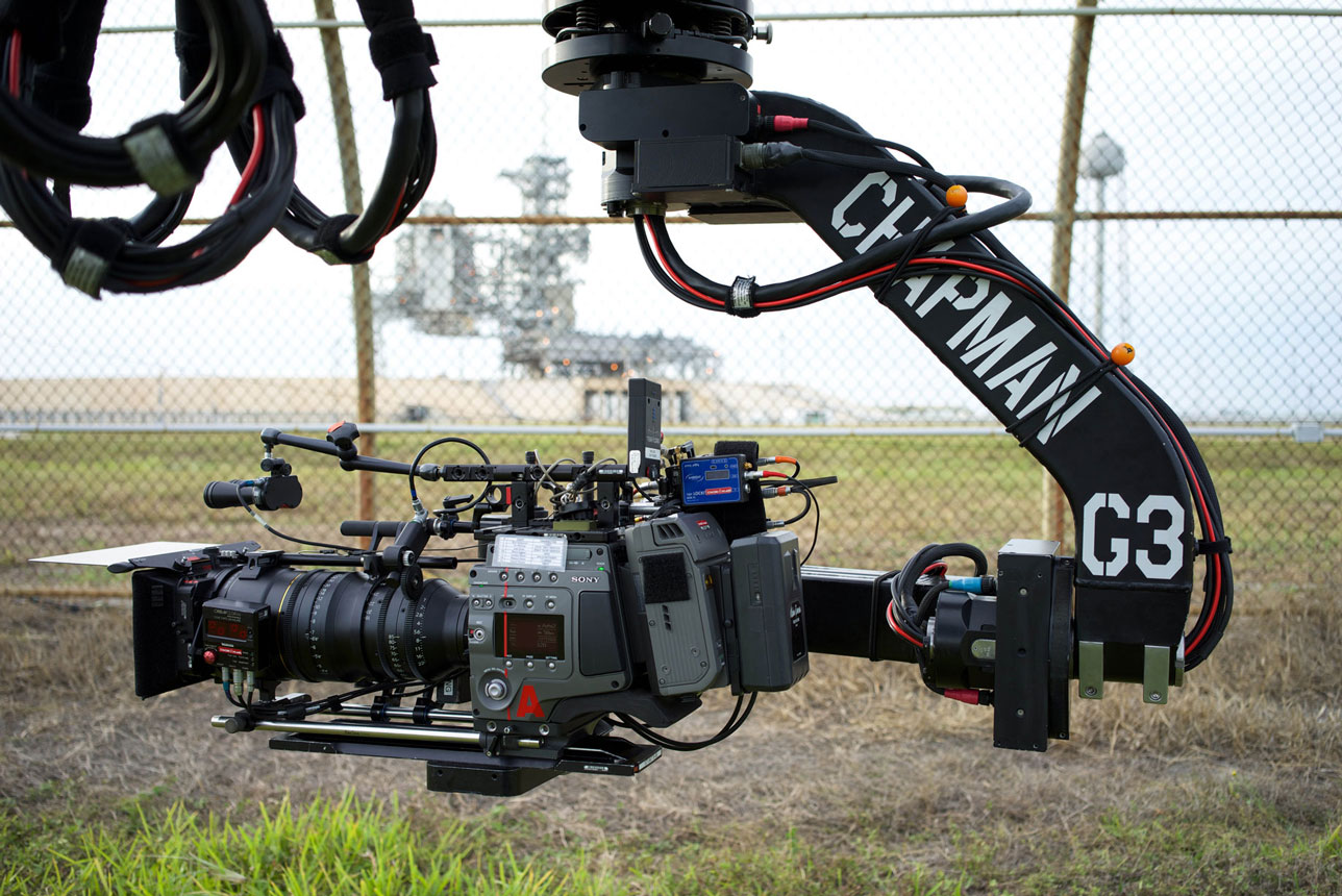 One of the lead CineAlta cameras used on-set (photo supplied).
