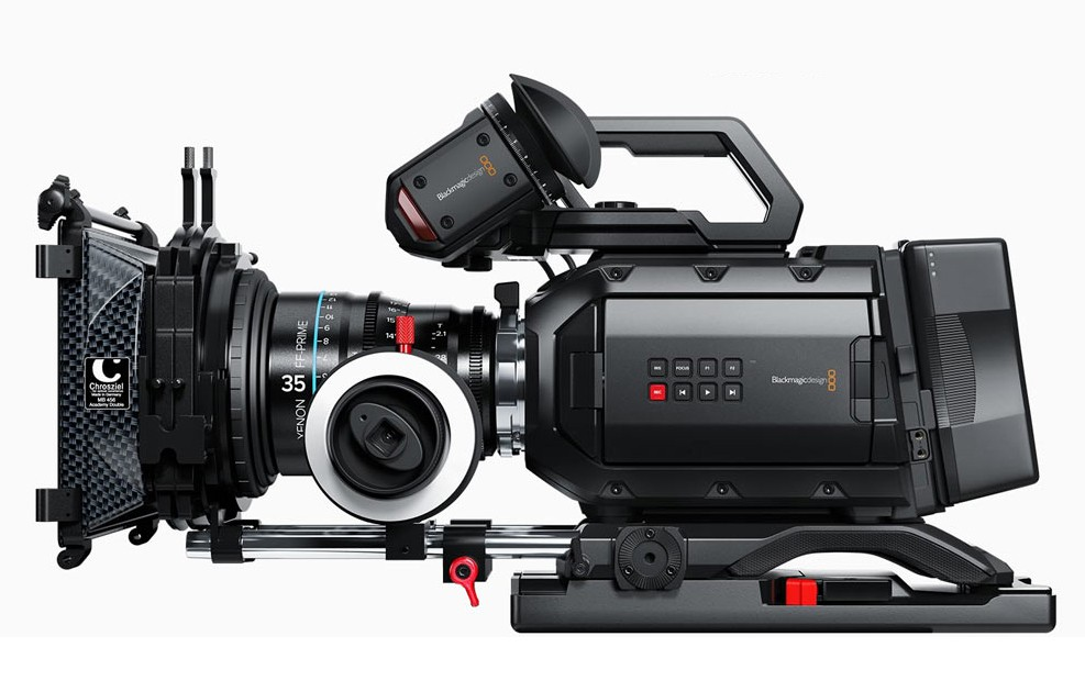 The Blackmagic Design Ursa Mini 4.6K.