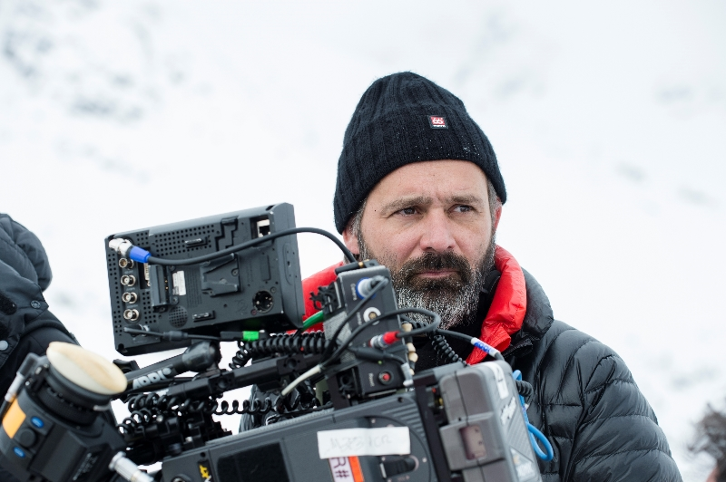'Everest' director Baltasar Kormákur on set (image: Universal Pictures).
