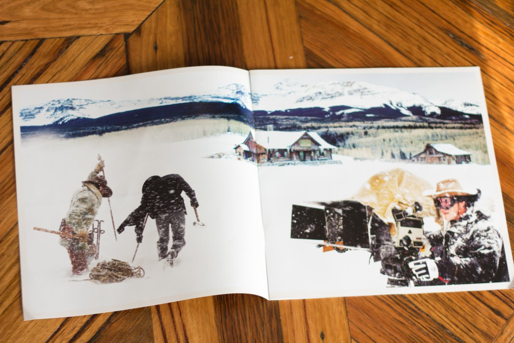 Hateful Eight program pages 2 & 3
