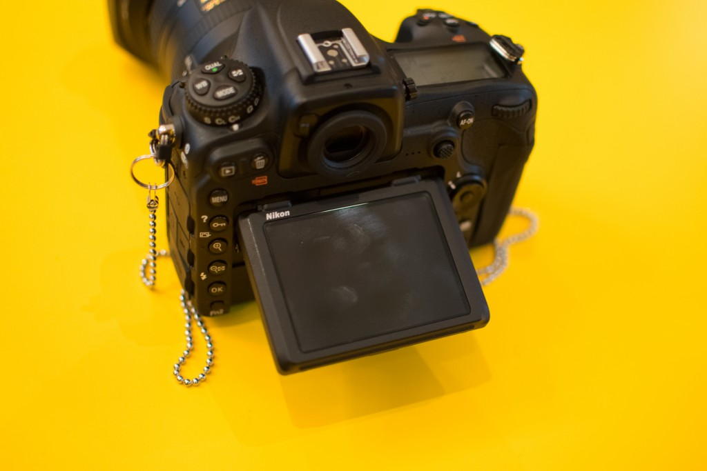 Nikon's APS-C D500 has a pull-out tiltable screen, perfect for belly shots.