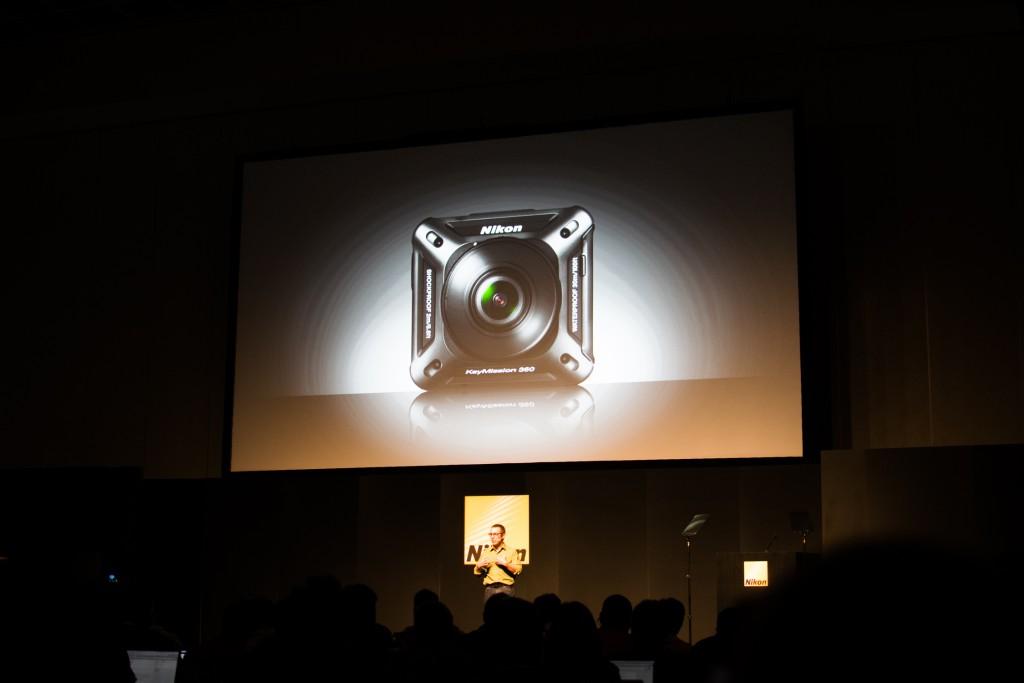 Nikon Keymission 360 launch