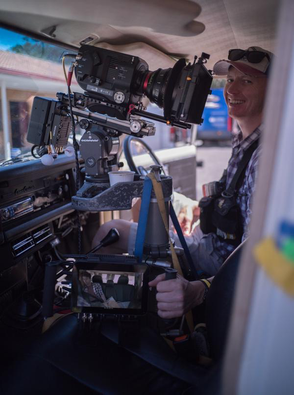 The Sony PXW-FS7 camera on TVCs directed and shot by Jason Wingrove across Australia (image: supplied).