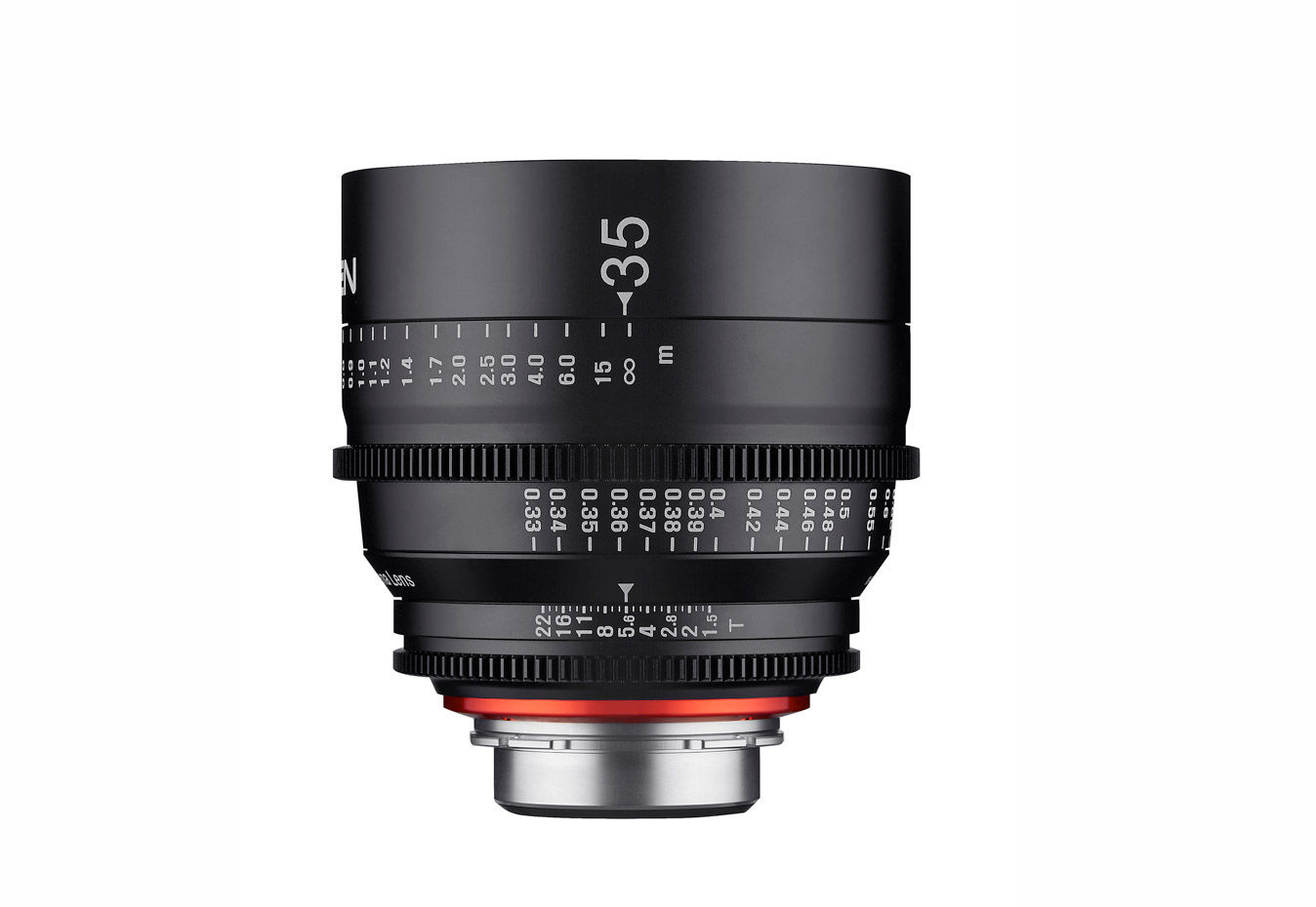 The Xeen 35mm T1.5 lens.