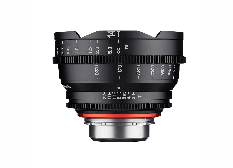 The Xeen 14mm lens