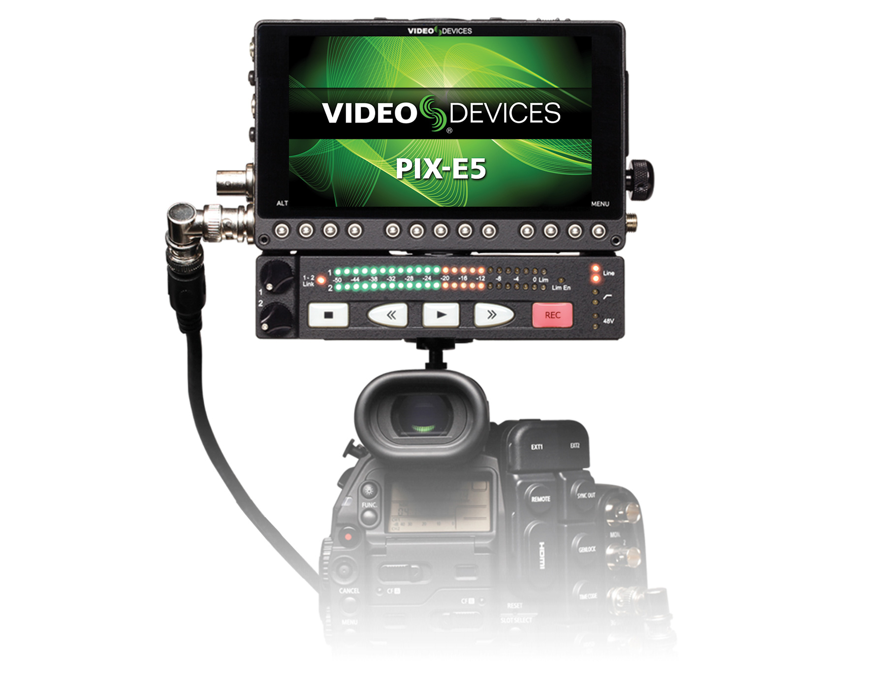 Video-Devices-PIX-E5-and-PIX-LR-on-camera