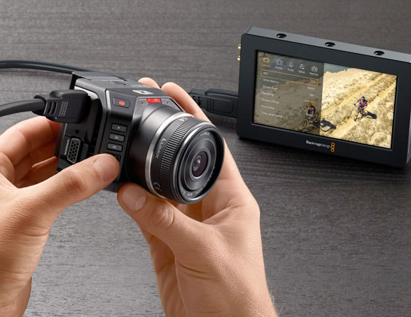 The BM Micro Cinema Camera.