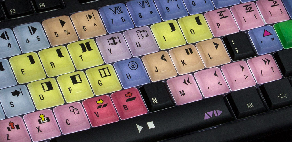 Astra keyboard for Avid Media Composer (image supplied).