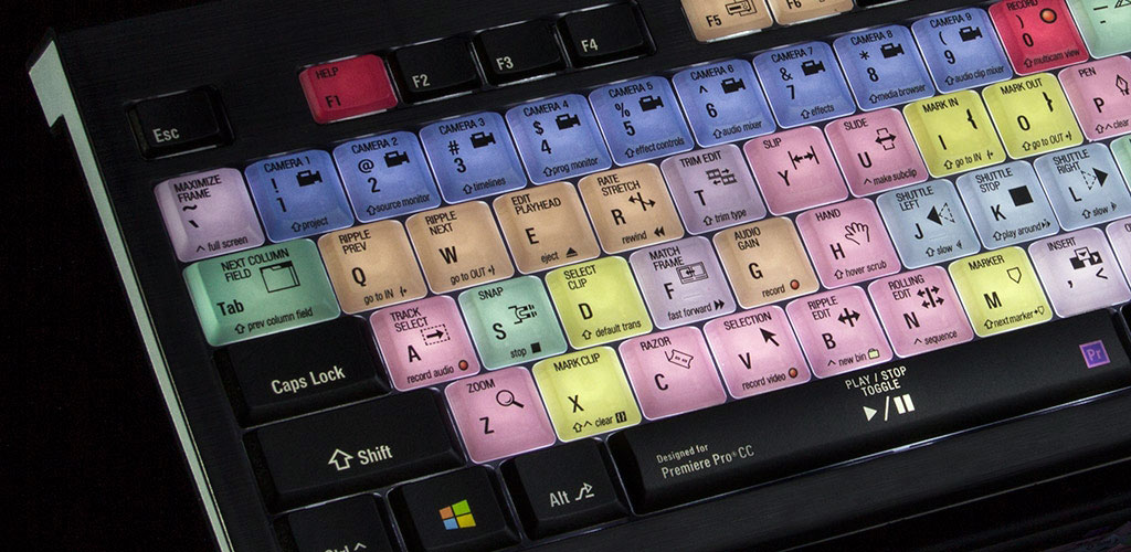 Astra keyboard for Premiere Pro CC (image supplied).