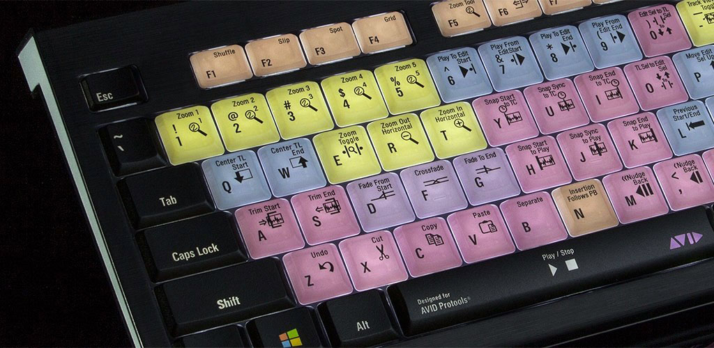 Astra keyboard for Pro Tools (image supplied).