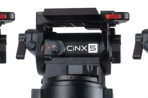 MILLER LAUNCHES CiNX, NEW LINE OF CINEMA FLUID HEADS, AT IBC