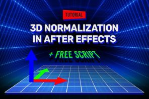 3D NORMALIZATION IN AFTER EFFECTS